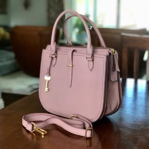 NWT Fossil Ryder Satchel, Orchid (Limited Edition)